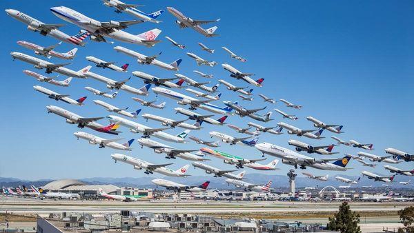 Exodus Airplane Photography