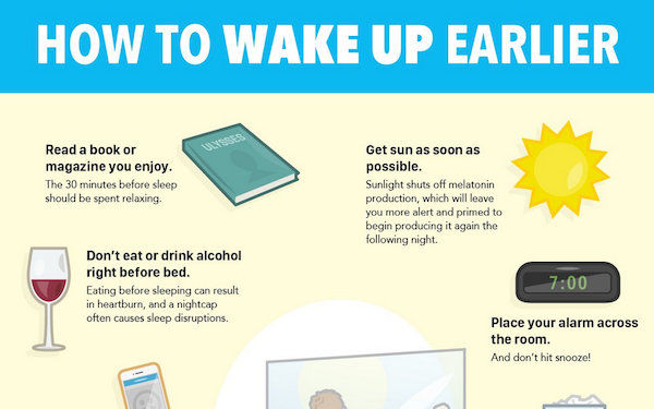 Morning Routine-Making Charts : waking up early