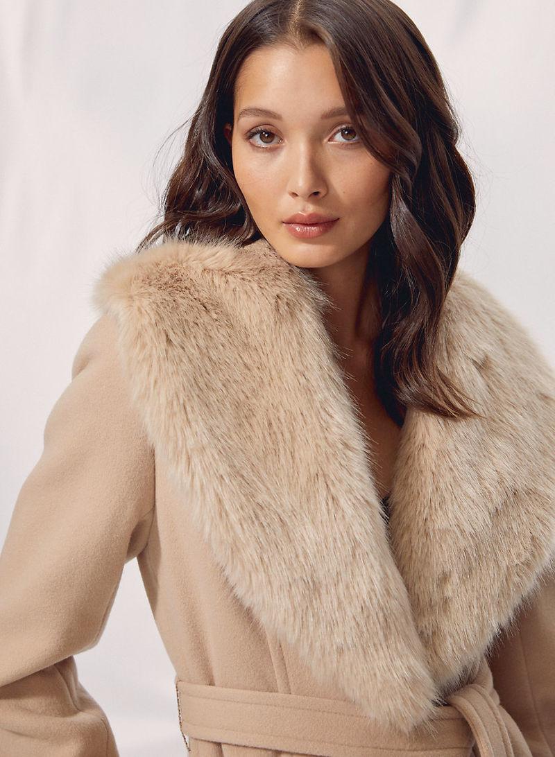 Vintage-Inspired A-Line Coat