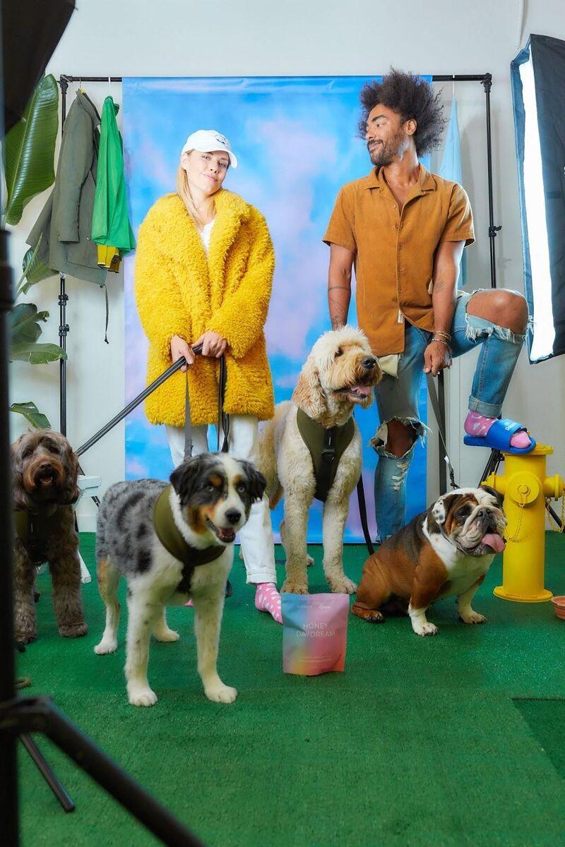 Dog Walking-Inspired Apparel
