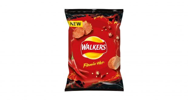 Intensely Spicy Snack Chips