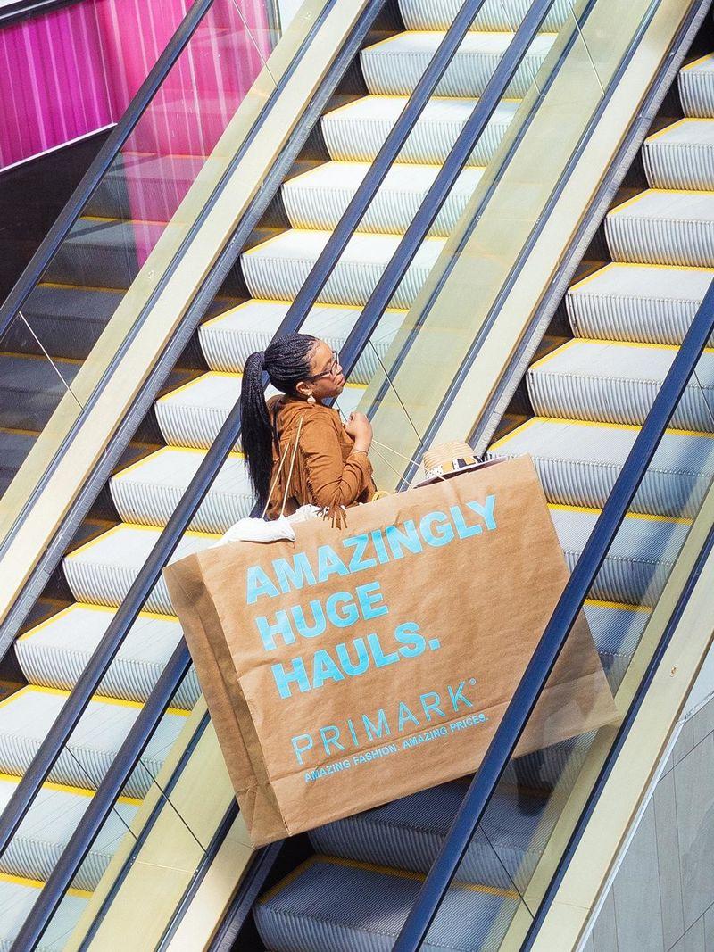 Oversized Shopping Bag Ads