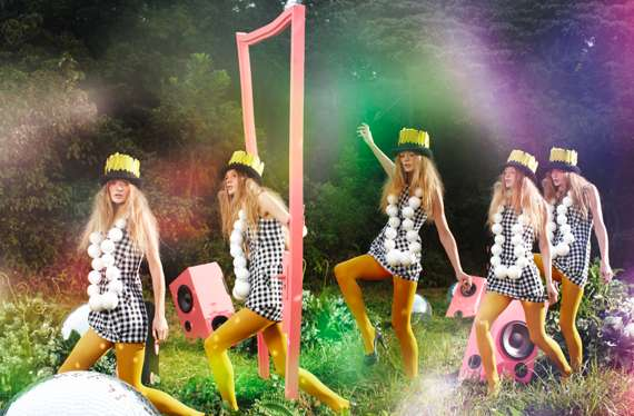Psychedelic Fashion Campaigns