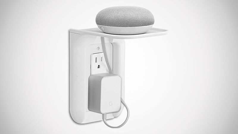 Shelf-Equipped Outlet Covers