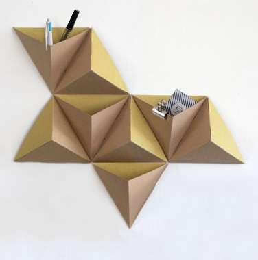 Mounted Origami Organizers