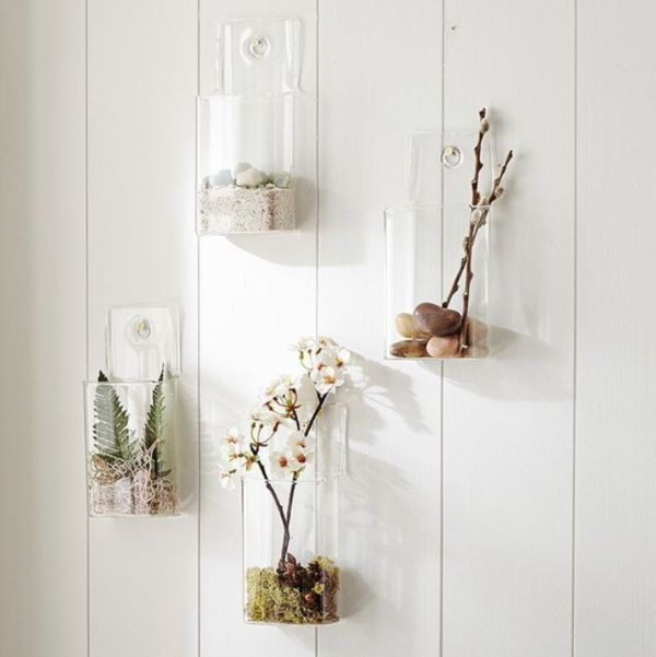 Beautiful Wall-Mounted Vases