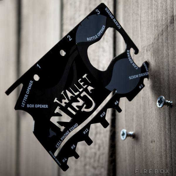 Discreet Versatile Pocket Tools Wallet Ninja