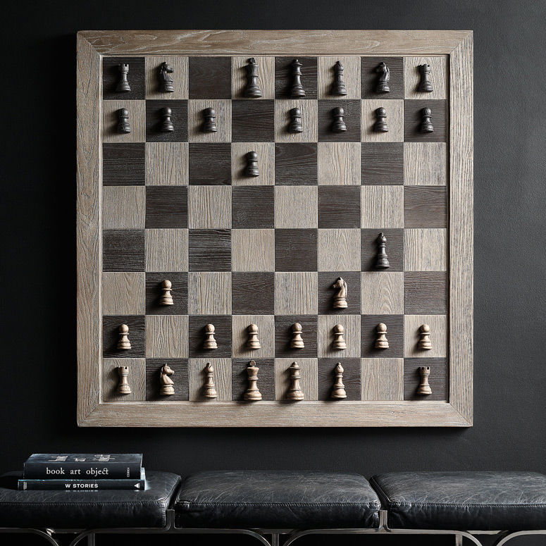 Vertical Artwork Chess Sets