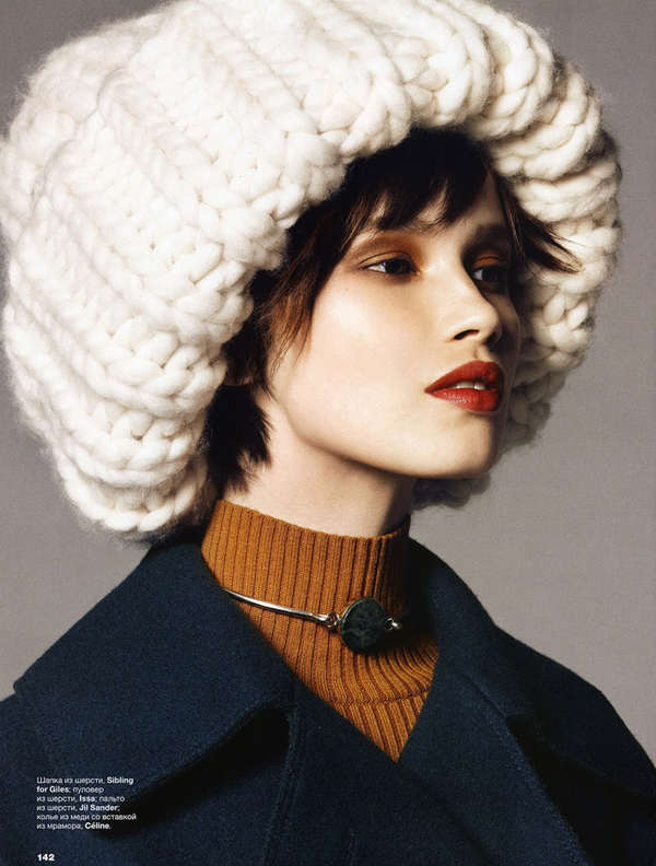 Oversized Winterwear Editorials