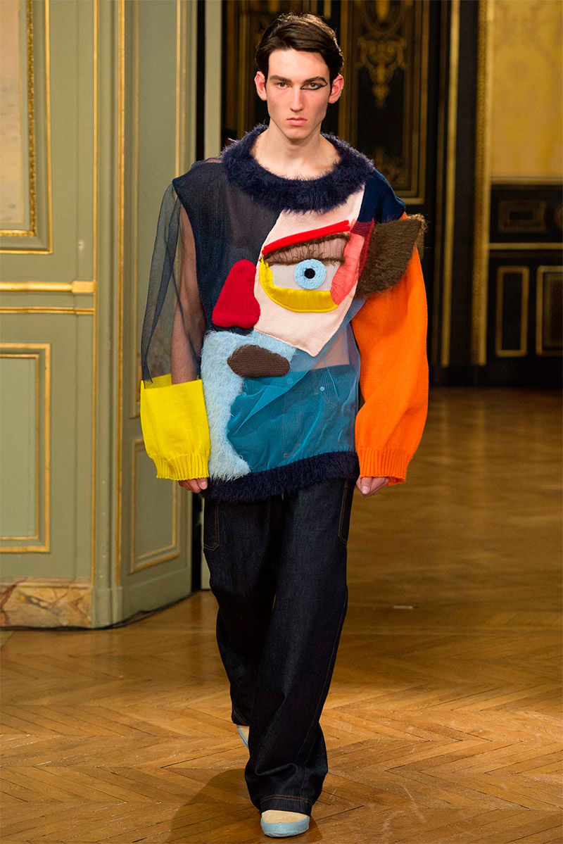 Cubism-Themed Knitwear Collections