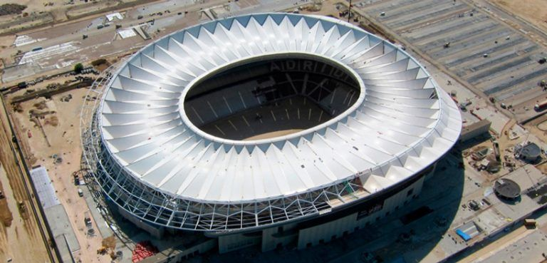 Expansive Spanish Soccer Stadiums