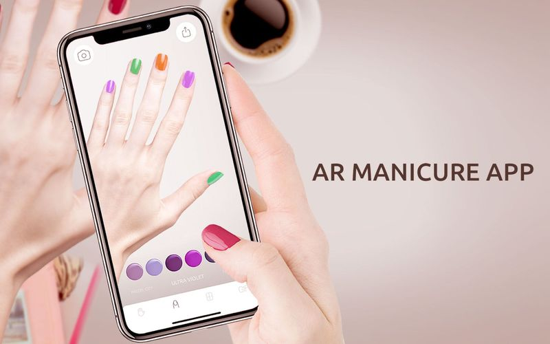 AR Nail Polish Apps