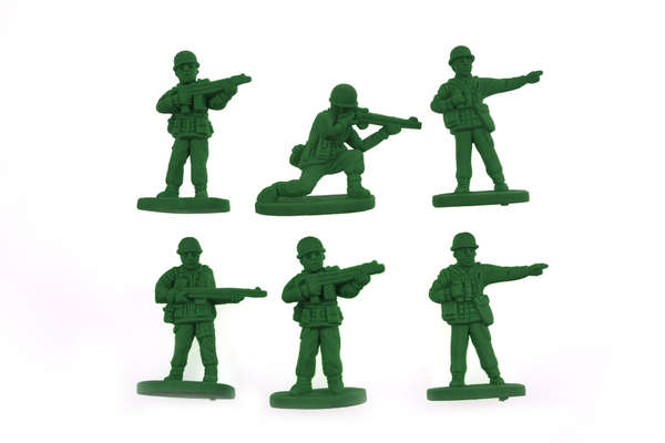 Army Men Toy Erasers