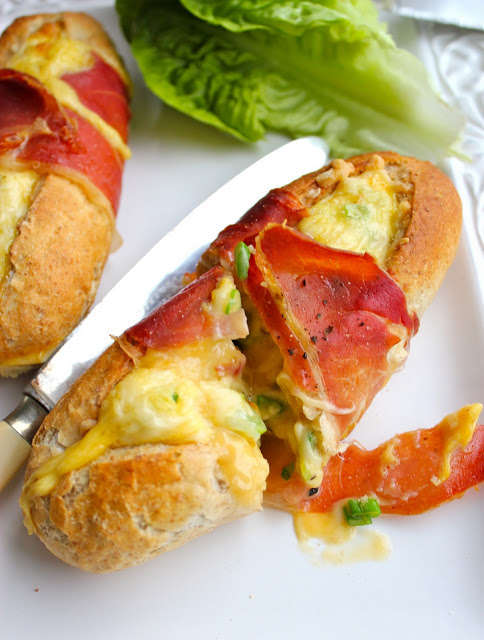 Egg-Filled Baguettes