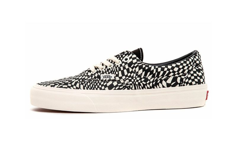 Warped Graphic Canvas Sneakers