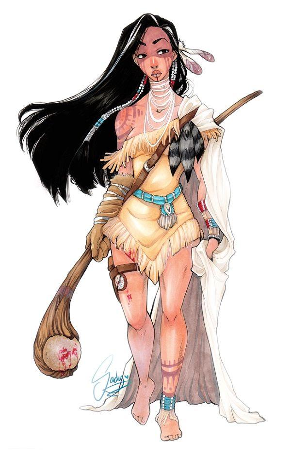 Warrior Princess Makeovers