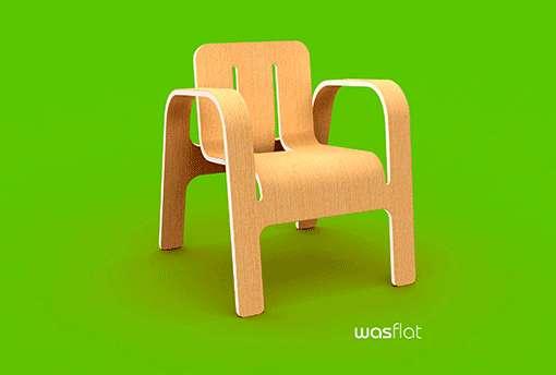 Phenomenal Flatpack Lumber Loungers Wasflat Chair Machost Co Dining Chair Design Ideas Machostcouk