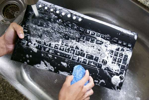 Soap-Proof Sanitary Keyboards