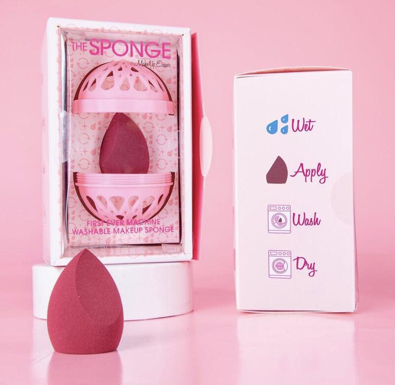 Machine-Washable Makeup Sponges