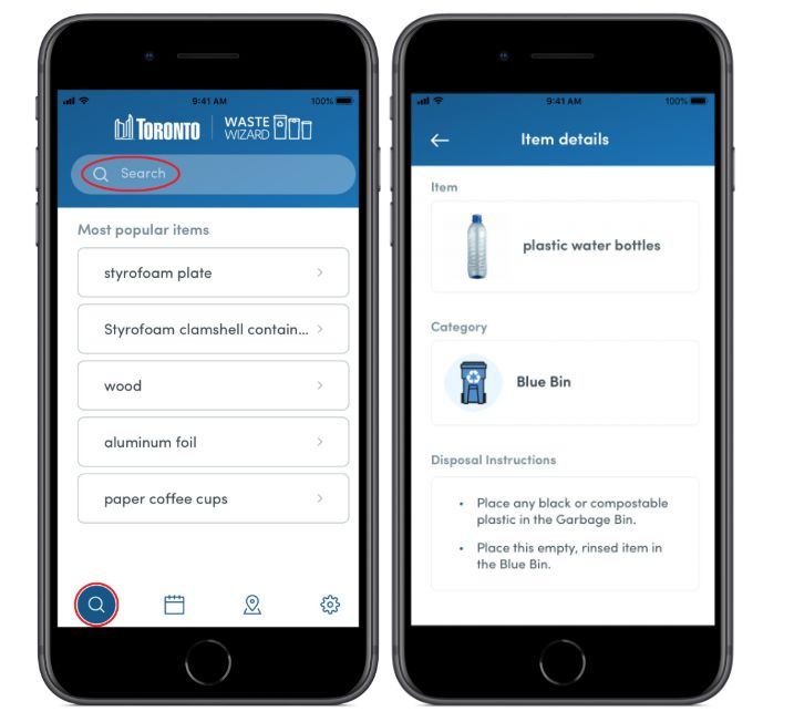 Simplified Waste Management Apps
