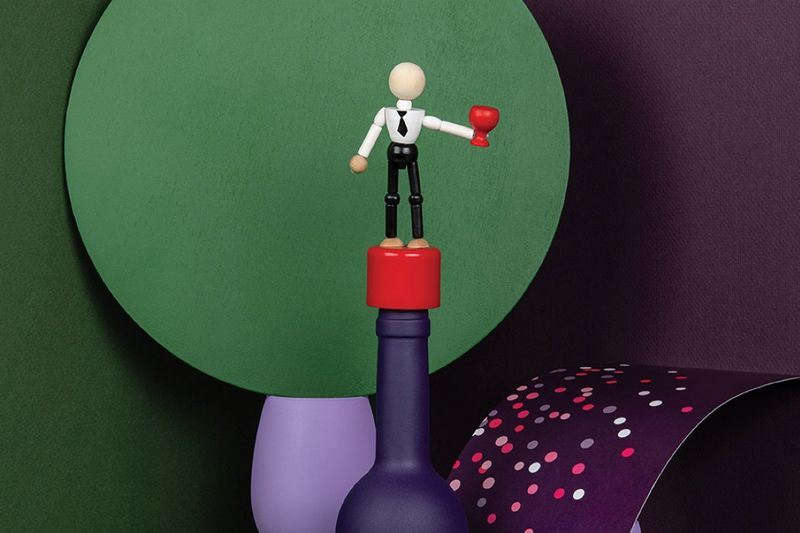 Cheeky Toy-Like Bottle Toppers