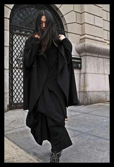 Draped Skirt Menswear