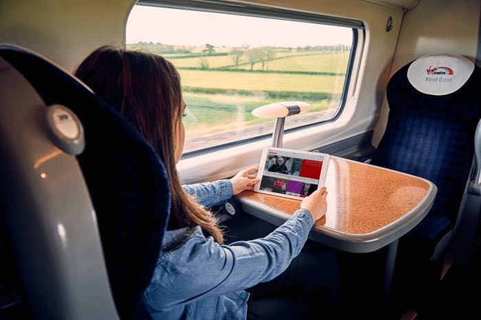 Train Travel Streaming Apps