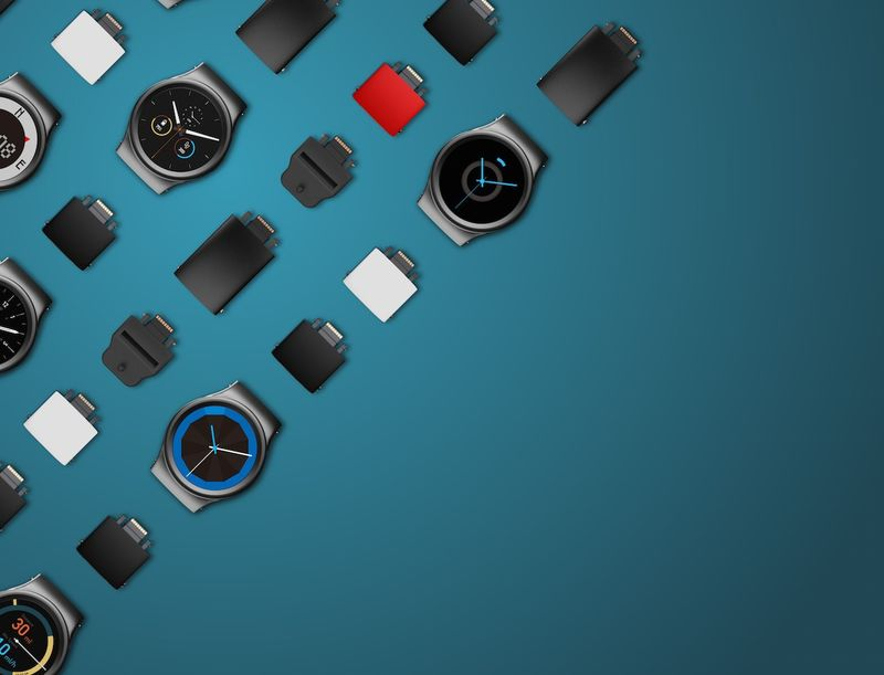 Interchangeable Component Smartwatches