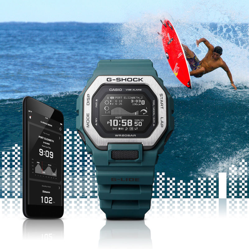 Surfer-Specific Timepieces