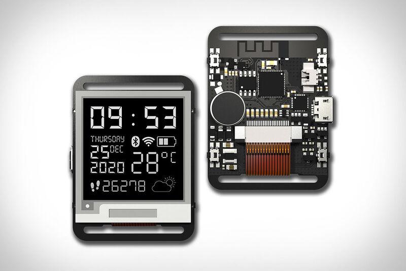 Barebones e-Paper Smartwatches