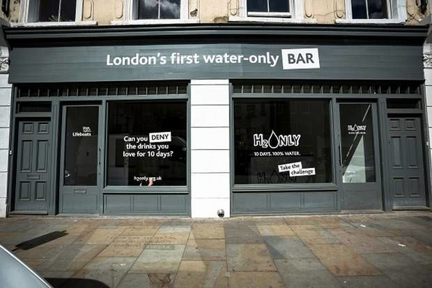 Pop-Up Water Bars