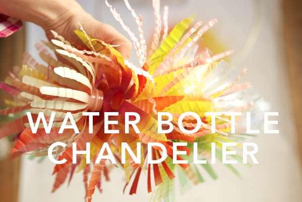 DIY Eco Chandeliers