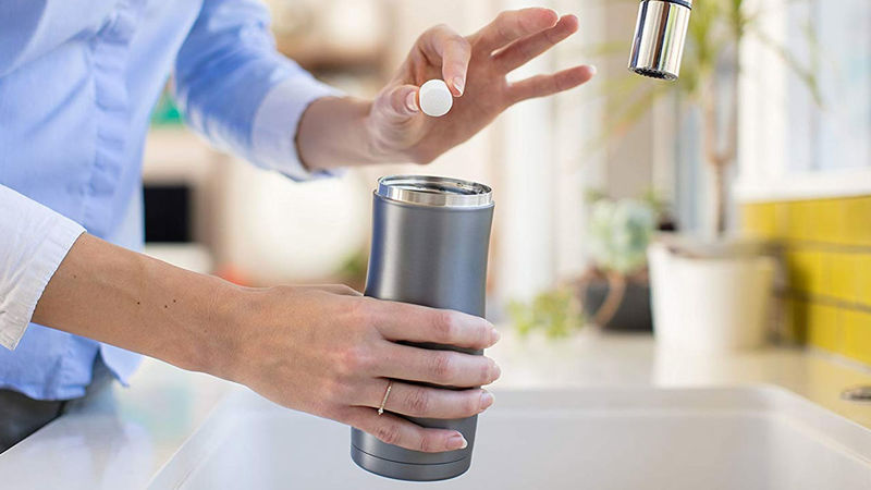 Nontoxic Bottle Cleaning Tablets