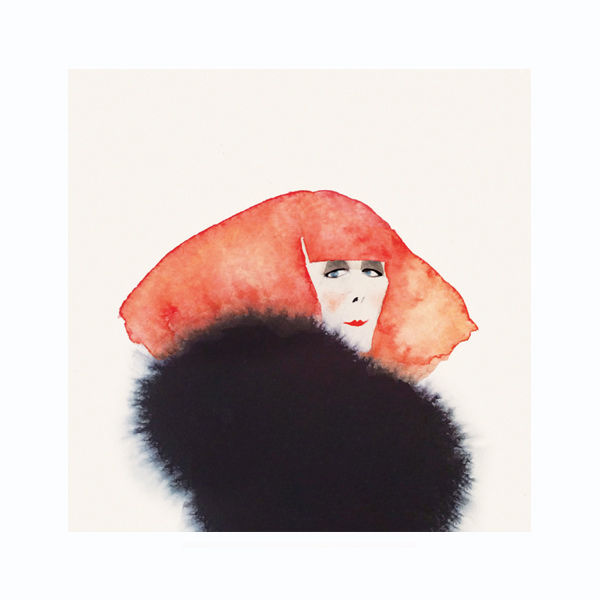 Playful Water Color Portraits