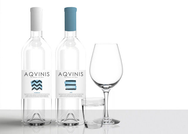 Wine-Inspired Water Bottles