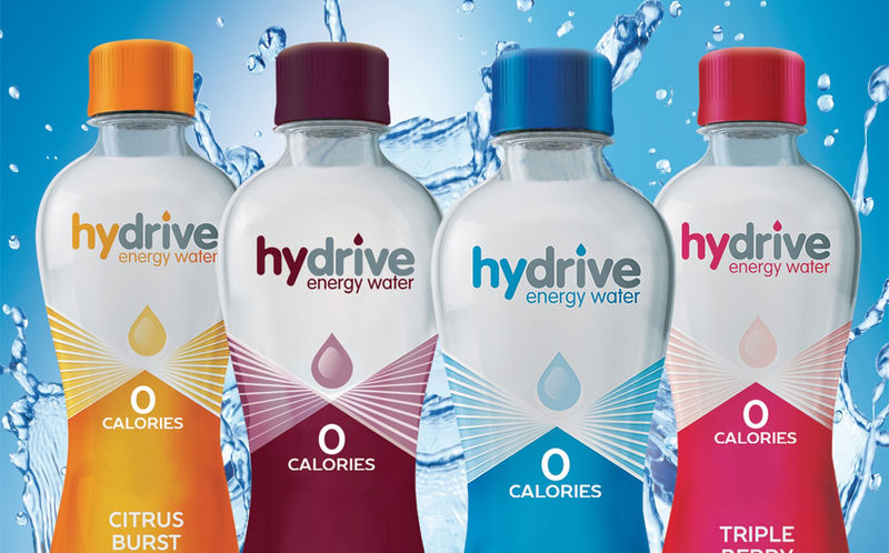 Enhanced Caffeinated Waters Water Drinks