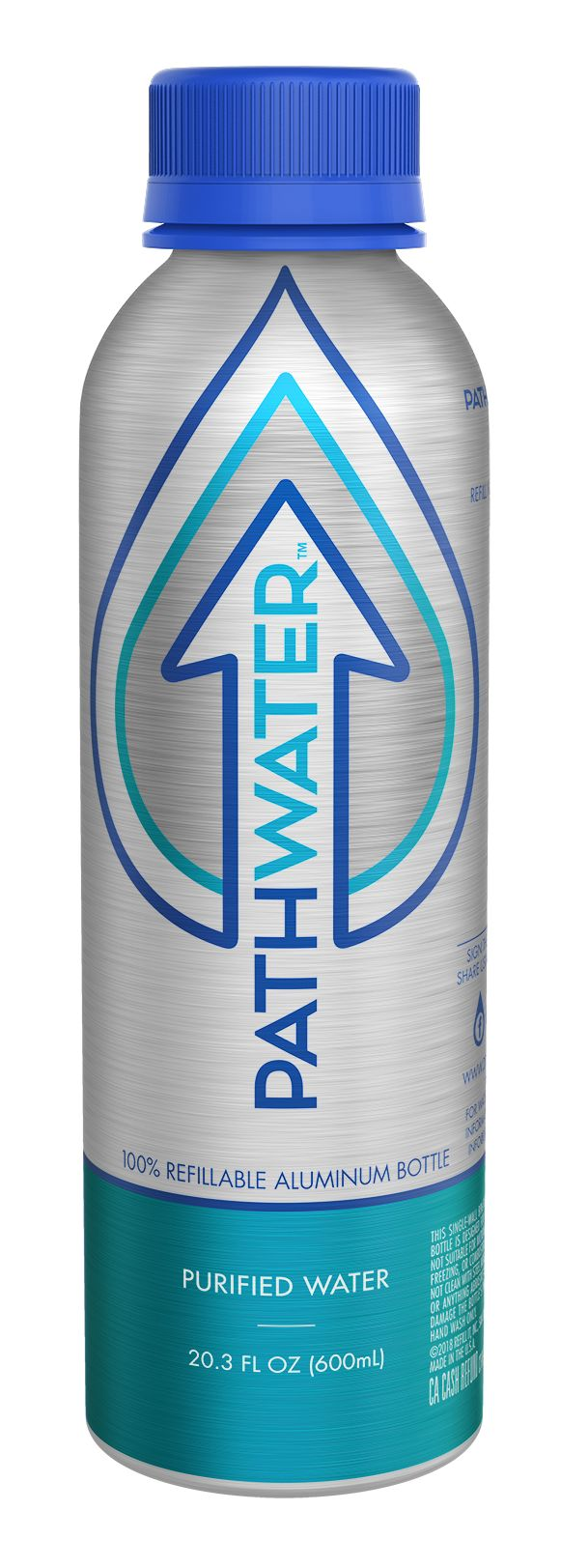 Refillable Purified Water Bottles
