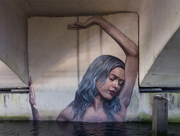 Interactive Feminine Murals