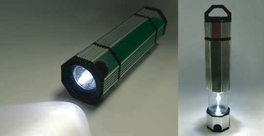 Water-Powered Flashlights