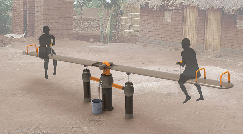 Water-Filtering Seesaws