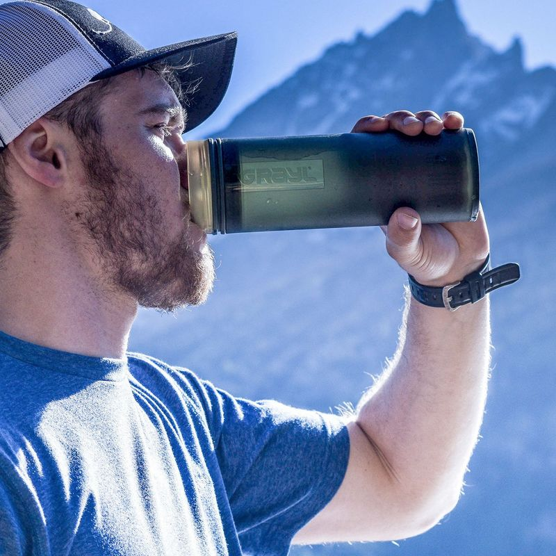 Traveler Water-Purifying Bottles