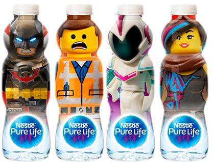 Toy Character Bottled Waters