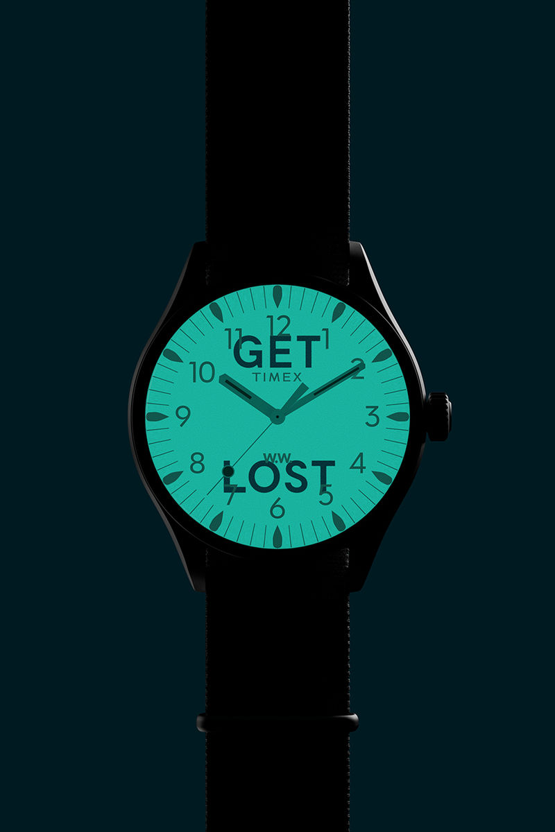 Glow-in-the-Dark Co-Branded Watches