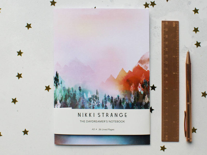 Watercolor Notebook Covers