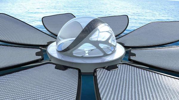 Lotus Solar Desalinators Waterdome Desalination Plant