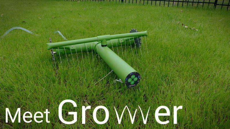 Autonomous Robot Lawn Waterers