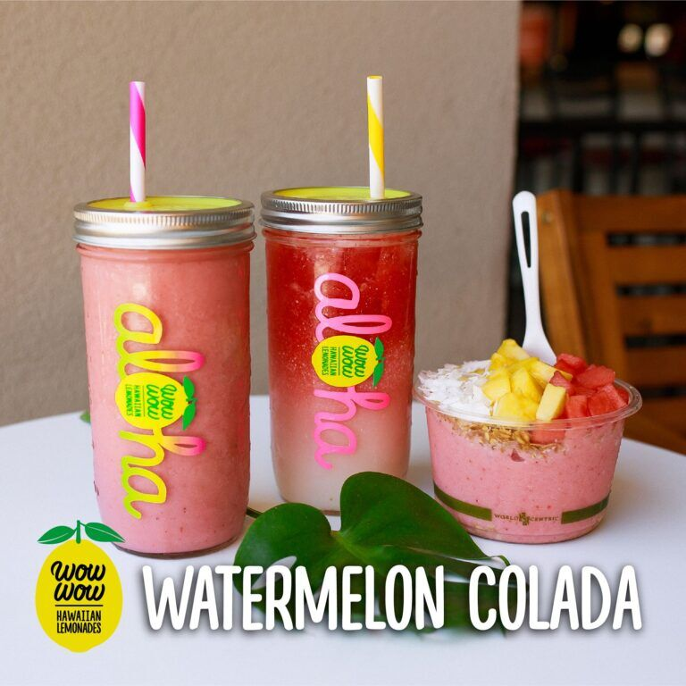 Watermelon Colada Menus