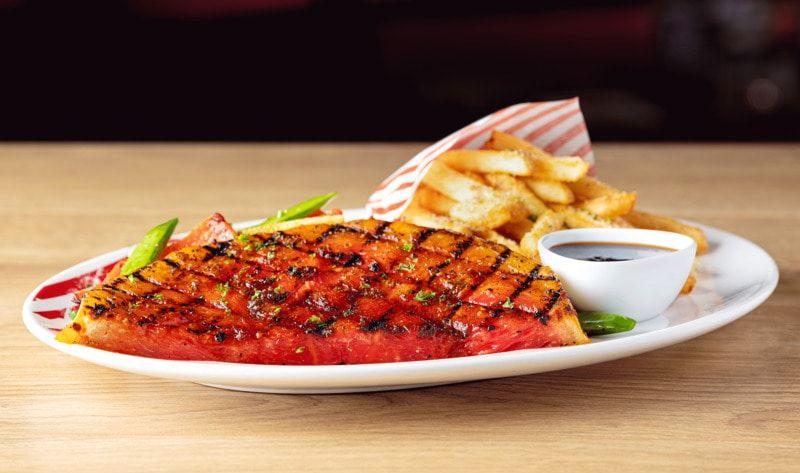 Spicy Watermelon Steaks