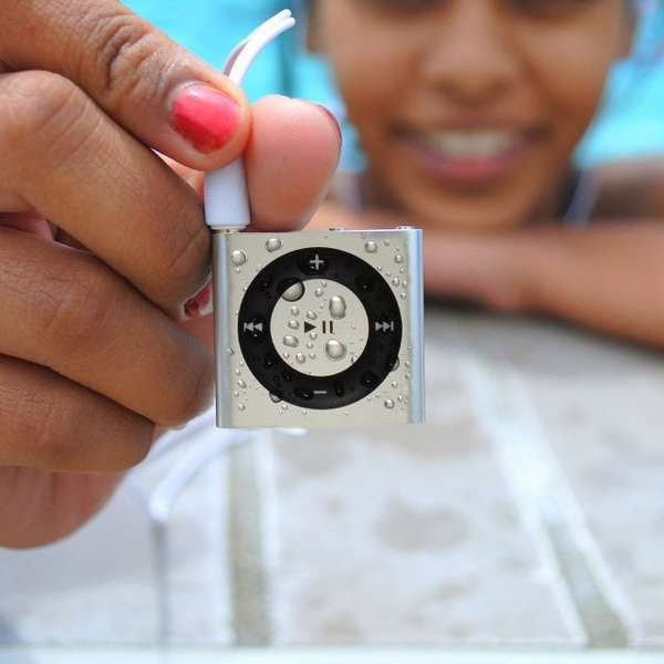 Water-Resistant MP3 Players