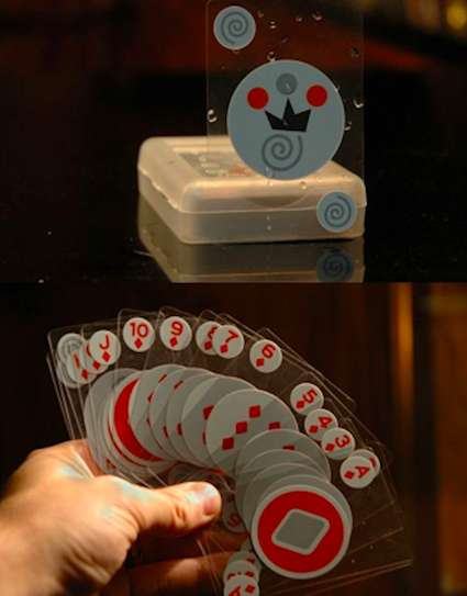 Transparent Waterproof Cards